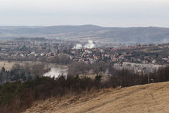 Wiosny miasteczko Zdjęcia Stock