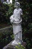 Wiosny postaci statua Dziedzictwa marmurowy statuaryczny przy Królewskimi ogródami botanicznymi, Sydney zdjęcie royalty free