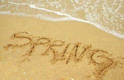 Wiosny przerwa Zdjęcia Stock