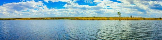 Wiosny rzeka Zdjęcie Stock