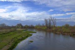 Wiosny rzeka Zdjęcie Royalty Free