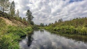 Wiosny rzeka Zdjęcia Stock