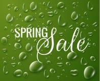 Wiosny sprzedaży wektoru tło Obraz Royalty Free