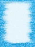 Wiped Window. Grungy Snowflakes Border: Wiped Window vector illustration