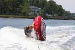 Wipeout da tubulação da água Foto de Stock Royalty Free