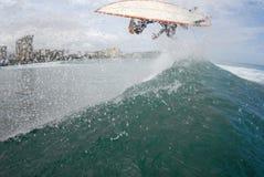 Wipeout del aire de la resaca Imagen de archivo libre de regalías