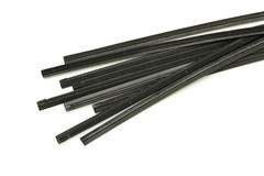 Wiper blade rubber refill Royalty Free Stock Image