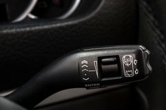 Wipers control. Royalty Free Stock Photo