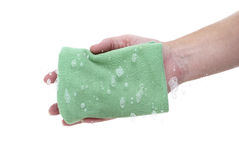 Wiping Clean Royalty Free Stock Photo