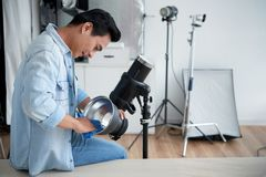 Wiping equipment Royalty Free Stock Images