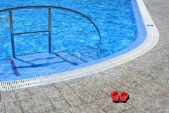 wipschakelaars en pool Stock Fotografie