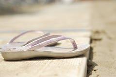 Wipschakelaars op het strand Royalty-vrije Stock Fotografie