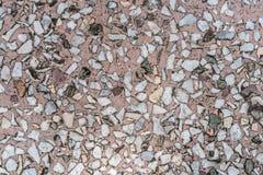 Żwir betonowa tekstura Zdjęcie Royalty Free