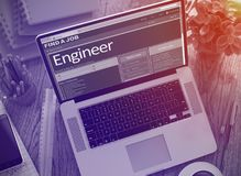 Wir Einstellungsingenieur 3d Lizenzfreies Stockfoto