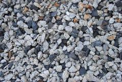 Żwir kamienna tekstura Mali round kamienie w różnych kolorach pojęcia tła energii obraz zdjęcie royalty free