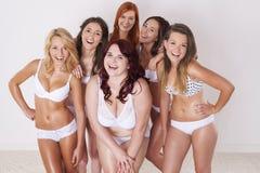 Wir lieben unsere Körper Lizenzfreies Stockfoto