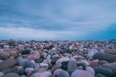 Żwir plaża, Nowy Athos Zdjęcie Royalty Free