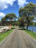żwir road Zdjęcia Royalty Free