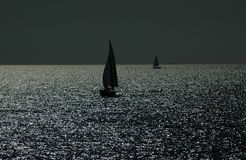 Wir segeln Stockfoto