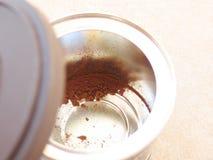 Wir sind aus Kaffee heraus Lizenzfreie Stockbilder