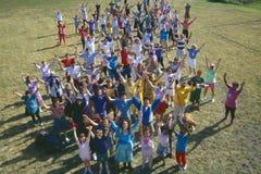 Wir sind die Weltzeremonie Stockfotos