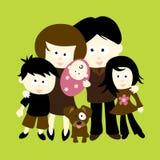 Wir sind Familie Lizenzfreie Stockfotografie