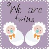 Wir sind Zwillinge vektor abbildung