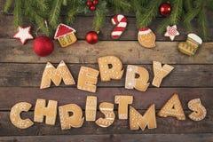 Wir wünschen Ihnen frohen Weihnachten stockfotos