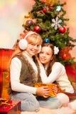 Wir wünschen Ihnen frohen Weihnachten! Stockbilder