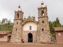 Wiracocha Temple in Cusco, Peru. Stock Images