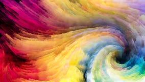 Wirbelnde Farben lizenzfreie abbildung