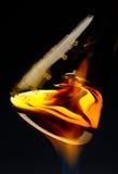 Wirbelnde Flasche stockfotografie