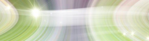 Wirbelnde Luft des Hintergrundes mit Stern Lizenzfreie Stockfotografie