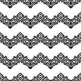 Wirbelnde schwarze glatte Linien auf wei?em Hintergrund stock abbildung