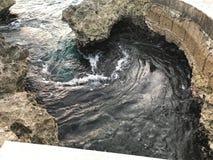 Wirbelndes Wasser lizenzfreie stockfotos