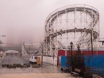 Wirbelsturm-Achterbahn - Coney Island Lizenzfreie Stockfotografie