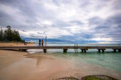 Wirbelsturm-Jahreszeit in West-Australien stockfoto