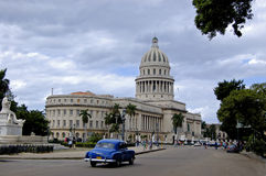 Wirde angle view of Capitolio, Stock Photography