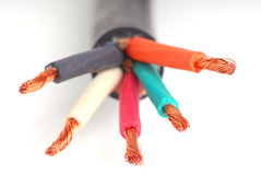 Wire Royalty Free Stock Photography
