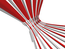 Wire abstract background isolated Royalty Free Stock Images