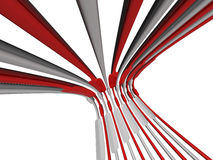 Wire abstract background isolated Stock Images