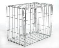 Wire animal cage Stock Images