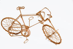 Wire Art Bicycle Royalty Free Stock Photography