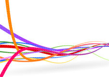 Wire background - stream line Stock Photos