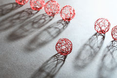 Wire Balls Set Stock Image