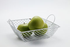 Wire basket Stock Photos