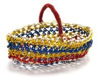 Wire basket Stock Photo