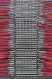 Wire baskets Royalty Free Stock Image