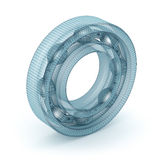 Wire bearing design, isolated Stock Images