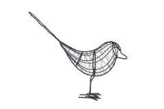 Wire Bird Stock Photo